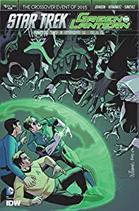 Star Trek/green Lantern (2015) #5 Of 6 Vf/nm The Spectrum War Cover A Idw