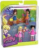 Polly Pocket - W8732 - Poupée et Mini-Poupée - Coffret - Polly et ses Amis - Polly/Lila/Crissy/Kerstie