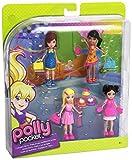Polly Pocket - W8732 - Poupée et Mini-Poupée - Coffret - Polly et ses Amis - Polly/Li