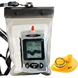 Lucky FFW-718 Wireless Portable Sonar Fish Finder With Dot Matrix 40m Range