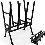 Sägebock höhenverstellbar für Holz Säge Holzspalter Kettensäge Brennholz Holzsägebock Sägegestell Feststellbügel Stahl