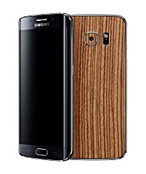 dbrand Zebra Wood Back Mobile Skin for Samsung Galaxy S6 Edge