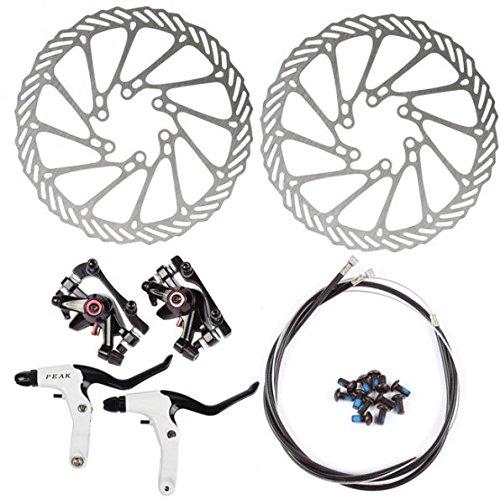 Frenos de disco para MTB delantero y trasero