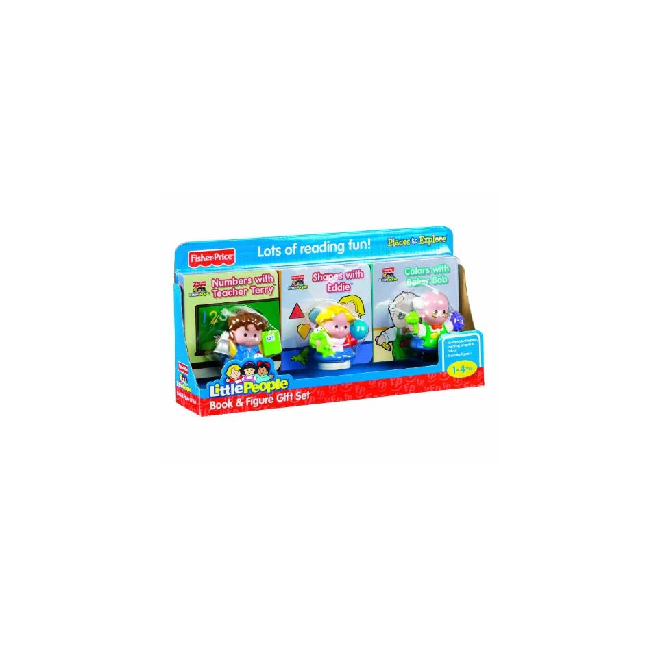 Fisher Price Little People Book & Figure Set