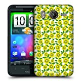 Head Case Mustard Poppy Bloom Design Snap-on Back Case Cover For HTC Desire HD