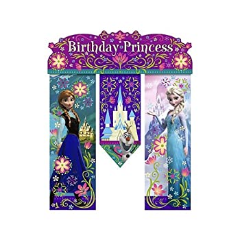 Package includes (1) birthday banner to match your party theme. This is an officially licensed Disney product.