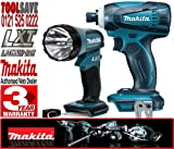 MAKITA BML185 18V Cordless Torch Plus BTD146Z 18V Cordless Li-ion Impact Driver (Body Only)