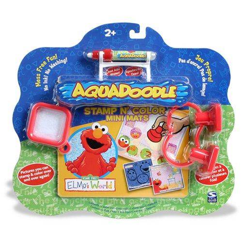 Aquadoodle Stamp 'N Doodle Elmo Mini Mat - Buy Aquadoodle Stamp 'N Doodle Elmo Mini Mat - Purchase Aquadoodle Stamp 'N Doodle Elmo Mini Mat (SpinMaster, Toys & Games,Categories,Arts & Crafts)
