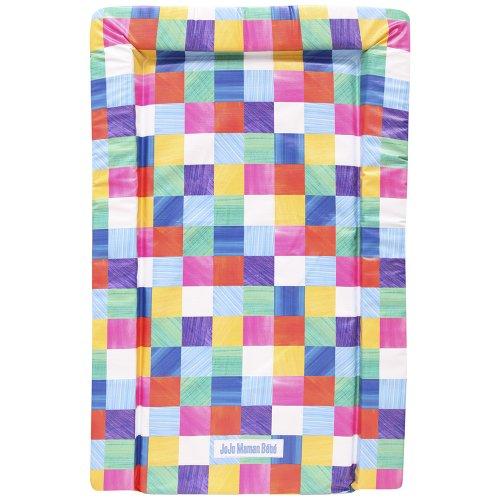 JoJo Maman Bebe Print Changing Mat, Bright Squares - 1