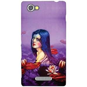 Sony Xperia M Back Cover - Cute Girl Designer Cases