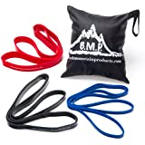 Black Mountain Products Strength Loop Bands Cross Fit Resistance Bands Combo