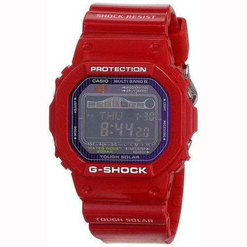 Casio Men's GWX5600C-4 G-Shock G-LIDE Red Resin Digital Watch