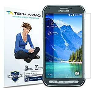 Tech Armor Anti-Glare Screen Protector for Samsung Galaxy S5 Active (Pack of 3)