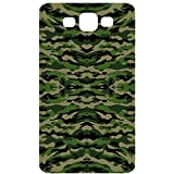 Military Camouflage Pattern Green Wavy Back Cover Case For Samsung Galaxy S3 / SIII / I9300