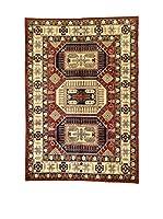 L'EDEN DEL TAPPETO Alfombra Uzebekistan Rojo/Multicolor 304 x 192 cm