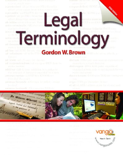 Can you name the legal terms from their definition?