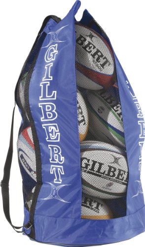 Gilbert Men's Gilbert Rugby Breathable Ball Carrier (Holds 12) - Royal