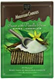 Salem Baking Chocolate Dipped Moravian Cookies, Sugar with Vanilla Bean, 8 Ounce
