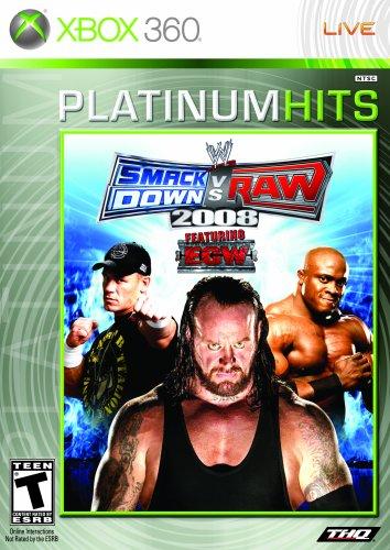 WWE SmackDown vs. Raw 2008 - Xbox 360 (Xbox 360 2008 Console compare prices)