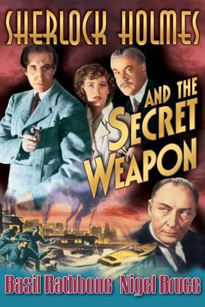 Sherlock Holmes and the Secret Weapon  DVD