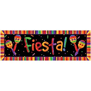 Creative Converting Giant Party Banner, Fiesta Festive from Creative Converting