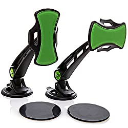 GripGo 79144 Mobile Cell Phone Holders Car Phone GPS Navigation Holder Windshield Mount