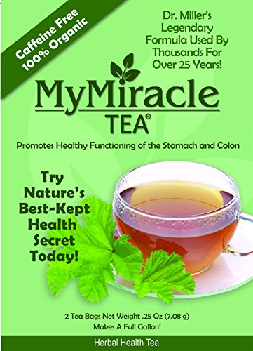 dr miller 39 s holy tea my miracle tea constipation relief and detox tea 1 week supply. Black Bedroom Furniture Sets. Home Design Ideas