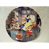 Disney The Dance of Snow White and the Seven Dwarfs by Knowles Collectible Plate