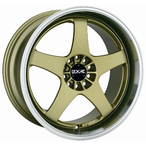 18 XXR 962 Gold Rims Wheels Staggered Nissan 350z 300zx SET OF 18 INCH