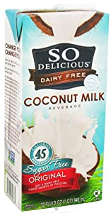 So Delicious - Dairy Free Coconut Milk Sugar Free Beverage Original - 32 oz.