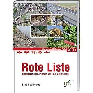 Rote Liste gefährdeter Tiere, Pflanzen und Pilze Deutschlands 1: Wirbeltiere