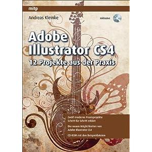 eBook Cover für  Adobe Illustrator CS4 12 Projekte aus der Praxis
