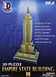 Daron Empire State Building 3D Puzzle, 55-Pieces