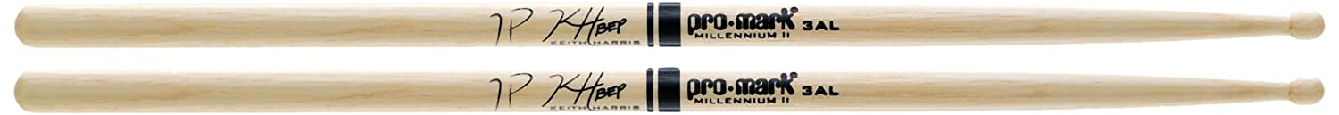 Promark Hickory 3AL Keith Harris Wood Tip drumstick