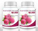 Raspberry Ketone Burn (2 Bottles) - Highly Concentrated Raspberry Ketones Fat Burning Supplement. The Top Rated New All Natural Weight Loss Diet Formula. 500mg