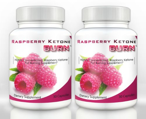 Raspberry Ketone Burn (2 Bottles) – Highly Concentrated Raspberry Ketones Fat Burning Supplement. The Top Rated New All Natural Weight Loss Diet Formula. 500mg