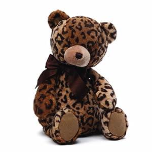 Gund Baby Jayme Leopard Print Plush Toy, Teddy Bear