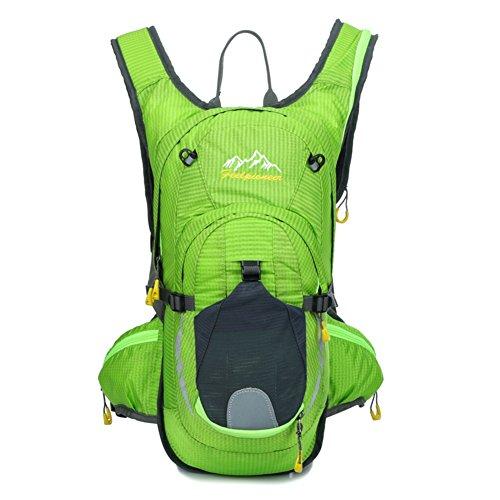 sac de vélo professionnel / sac d'escalade en plein air / sac de sport / Backpack Voyage-vert 15L