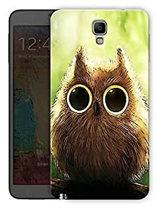 """Humor Gang Cute Owl Eyes Printed Designer Mobile Back Cover For """"Samsung Galaxy Note 3 Neo"""" (3D, Matte, Premium Quality Snap On Case)"""