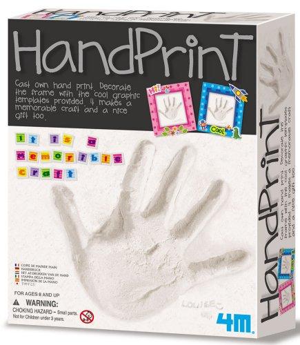 Toysmith 4M Hand Print Art #3492