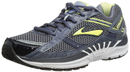 Brooks Womens Dyad 7 W Running Shoes 1201151B630 Denim/Midnight/Citrus/White/Silver/Provence 6.5 UK, 40 EU, 8.5 US Regular