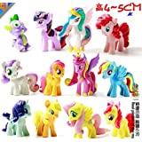 Lot 12pcs My Little Pony Figures Toy Great Kids Gifts Party Favors E33 /Item# G4 W8 B 48 Q40141