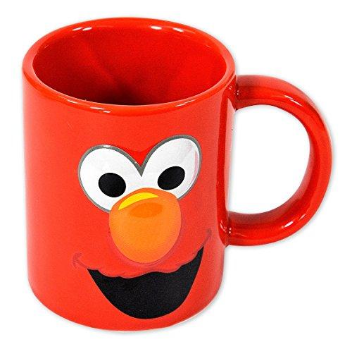 Sesame Street-Tazza da caffè in ceramica, Elmo/viso)