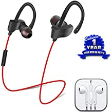 Google Pixel Compatible Certified QC-10 JOGGER SPORTS Bluetooth Headset V4.1 & All Smartphones Compatible Earphones With Mic (1 Year Warranty)