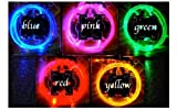 LED Fiber Optic Glow in the Dark Flashing Light Shoelaces - Available in Red, Green, Blue, Yellow and Multi Colour