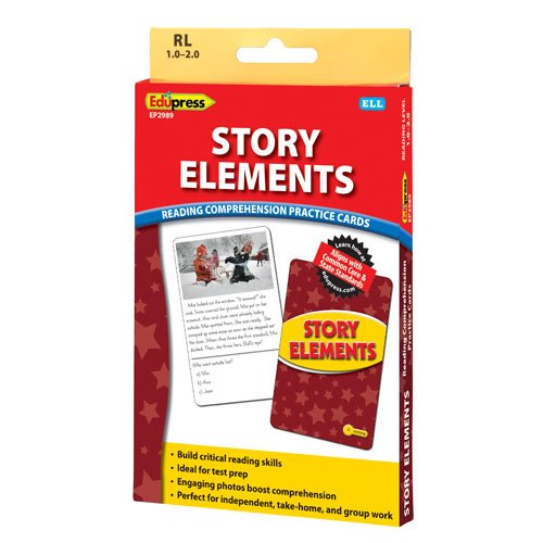 Story Elements Practice Cards Yellow Level