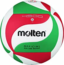 Molten Volleyball - 5, White/Green/Red