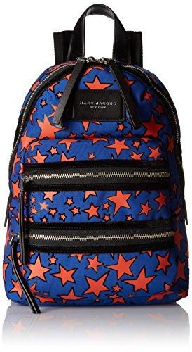 Marc Jacobs Mini Flocked Stars Printed Biker Backpack