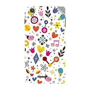 Garmor Designer Mobile Skin Sticker For Vivo Y15T - Mobile Sticker