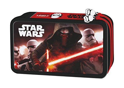 Star Wars the Clone Wars Federmappe gefüllt 26 teillig doppelstöckig Federtasche Federmäppchen